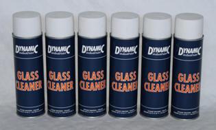 Glass cleaner van dynamic industries